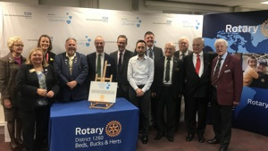 Hospital Charity purchases life-saving liver scanner with support from local Rotary Clubs